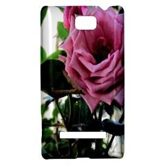 Rose HTC 8S Hardshell Case