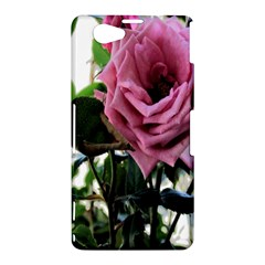 Rose Sony Xperia Z1 Compact Hardshell Case