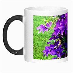 Purple Flowers Morph Mug