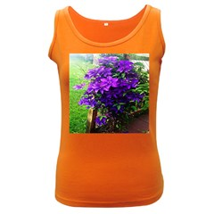 Purple Flowers Women s Tank Top (Dark Colored)