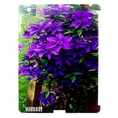 Purple Flowers Apple Ipad 3/4 Hardshell Case (compatible With Smart Cover)