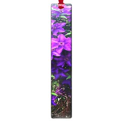 Purple Flowers Large Bookmark