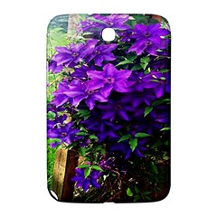 Purple Flowers Samsung Galaxy Note 8.0 N5100 Hardshell Case