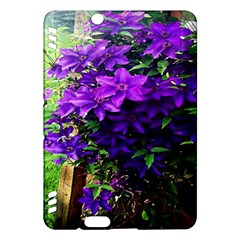 Purple Flowers Kindle Fire HDX 7  Hardshell Case