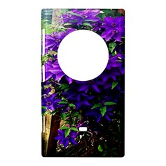 Purple Flowers Nokia Lumia 1020 Hardshell Case