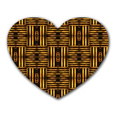 Bamboo Mouse Pad (Heart)