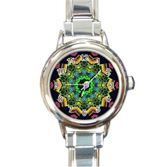Big Burst Round Italian Charm Watch