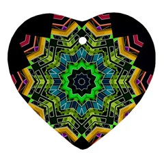 Big Burst Heart Ornament