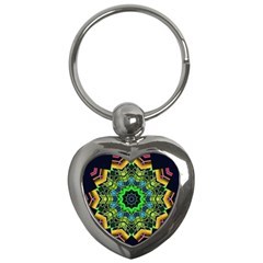 Big Burst Key Chain (Heart)