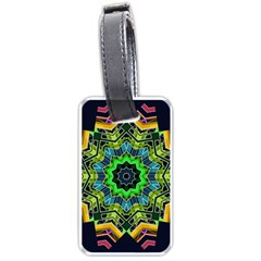 Big Burst Luggage Tag (One Side)