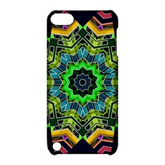 Big Burst Apple iPod Touch 5 Hardshell Case with Stand