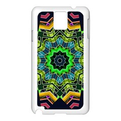 Big Burst Samsung Galaxy Note 3 N9005 Case (White)