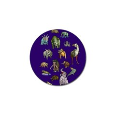 Dino Family 1 Golf Ball Marker 10 Pack