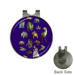 Dino Family 1 Hat Clip with Golf Ball Marker