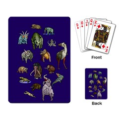 Dino Family 1 Playing Cards Single Design