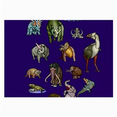Dino Family 1 Glasses Cloth (Large)