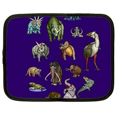 Dino Family 1 Netbook Sleeve (large)
