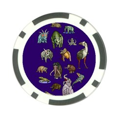 Dino Family 1 Poker Chip (10 Pack)