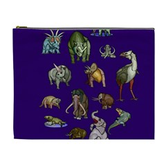 Dino Family 1 Cosmetic Bag (xl)