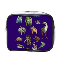 Dino Family 1 Mini Travel Toiletry Bag (One Side)