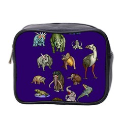 Dino Family 1 Mini Travel Toiletry Bag (two Sides)