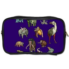 Dino Family 1 Travel Toiletry Bag (Two Sides)
