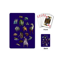 Dino Family 1 Playing Cards (Mini)