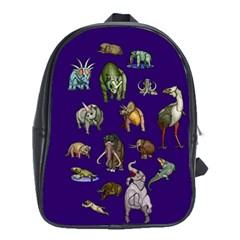 Dino Family 1 School Bag (XL)