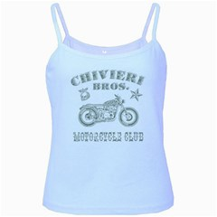 Chivieri Bros. Motorcycle Club Baby Blue Spaghetti Tank