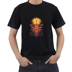 Eyedeer Men s T Shirt (black)