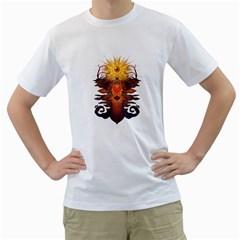 Eyedeer Men s T Shirt (white)