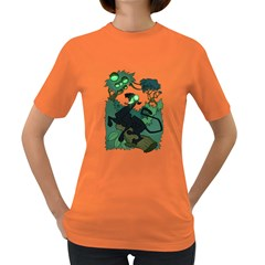 ACID PANTHER WITH BERRIES Women s T-shirt (Colored)