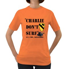 Charlie Don t Surf Women s T-shirt (Colored)