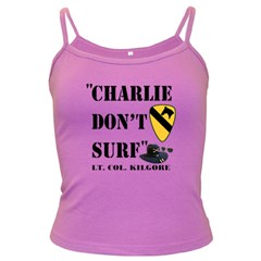 Charlie Don t Surf Spaghetti Top (Colored)