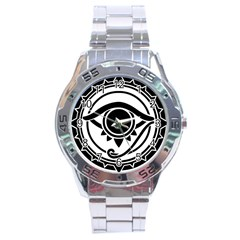 All_seeing_eye_by_kubnet Stainless Steel Watch