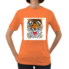 Tiger  Women s T Shirt (colored)