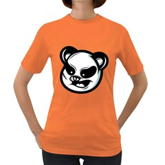 Badass Panda Women s T-shirt (Colored)