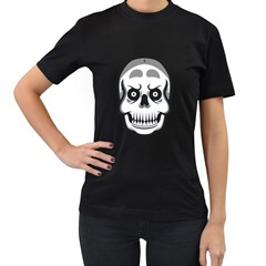 skull smile Women s T-shirt (Black)