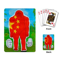 Flag Yeh Ren In Forest  Playing Cards Single Design