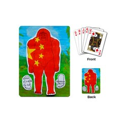 Flag Yeh Ren In Forest  Playing Cards (mini)