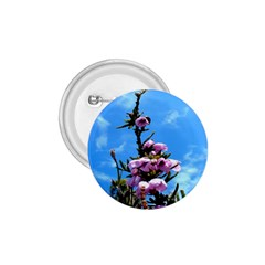 Pink Flower 1.75  Button