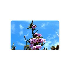 Pink Flower Magnet (Name Card)