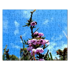 Pink Flower Jigsaw Puzzle (Rectangle)