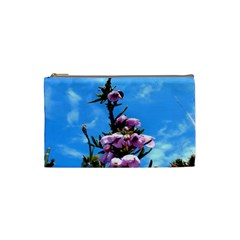 Pink Flower Cosmetic Bag (small)