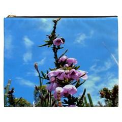 Pink Flower Cosmetic Bag (xxxl)