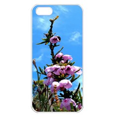 Pink Flower Apple Iphone 5 Seamless Case (white)