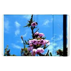 Pink Flower Apple iPad 2 Flip Case