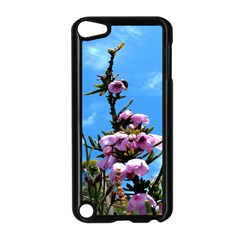 Pink Flower Apple iPod Touch 5 Case (Black)