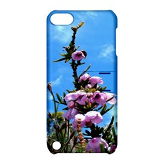 Pink Flower Apple Ipod Touch 5 Hardshell Case With Stand