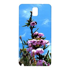 Pink Flower Samsung Galaxy Note 3 N9005 Hardshell Back Case